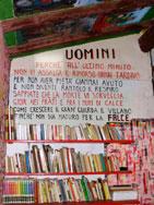 Giuliano manganello montenisa lo studio scritte e dipinti sulle pareti - Scritte sulle pareti di casa ...